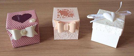scatoline portaconfetti personalizzate per battesimi comunioni e matrimoni - bomboniere d autore