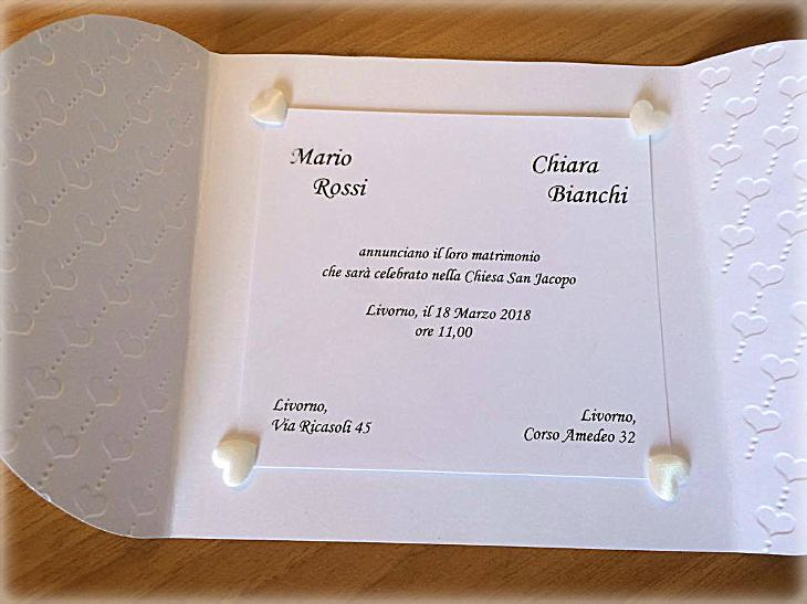 Partecipazioni Matrimonio Livorno.Partecipazioni Di Matrimonio Bomboniere D Autore