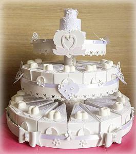 torta di bomboniere da matrimonio