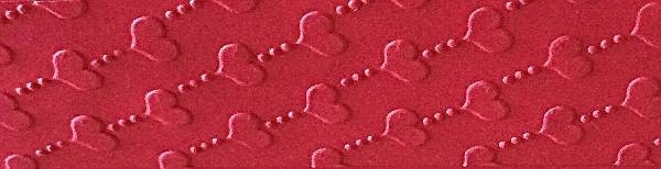 rilievo personalizzato per portaconfetti a cuoricini