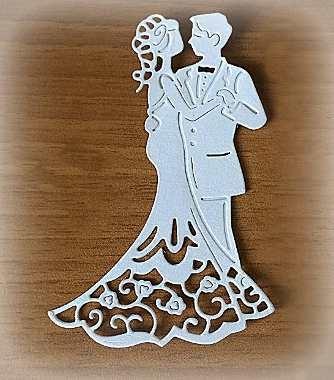coppia di sposi decorazione per bomboniere d autore